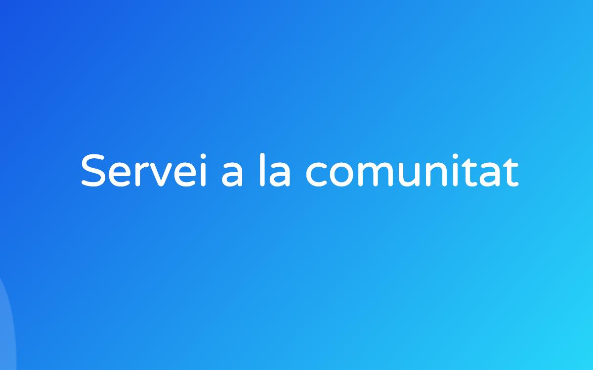 Servei a la comunitat